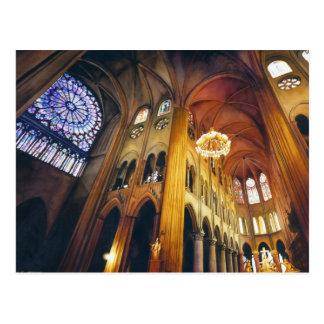 """Acuarela de la catedral de Notre Dame de la """"torsi Postal"""