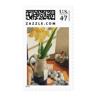 """""""Acuarela de la flor del iris de MaryBum"""" Sello"""