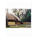 Acuarela de las islas de San Blas, Panamá Postales