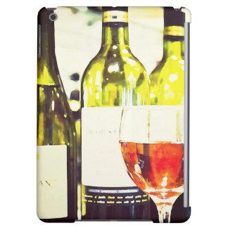 Acuarela de los amantes del vino