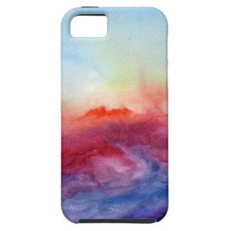 Acuarela de los arpegios iPhone 5 Case-Mate cárcasas