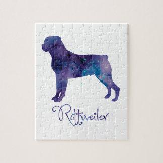 Acuarela de Rottweiler Puzzles Con Fotos