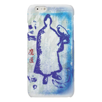 Acuarela de señor Takagari Samurai Blue Hue del