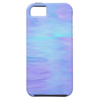 Acuarela de Tuquoise y de Lavendar iPhone 5 Carcasa