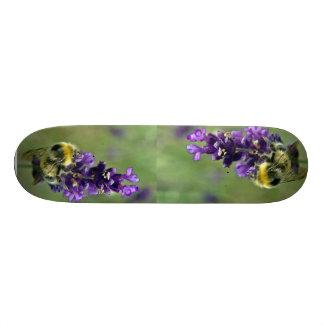 Acuarela del abejorro de la lavanda monopatines personalizados