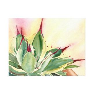 Acuarela del agavo de Debra Lee Baldwin Impresión En Lienzo