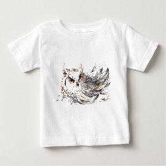 Acuarela del búho camisas