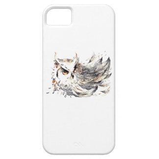 Acuarela del búho iPhone 5 funda