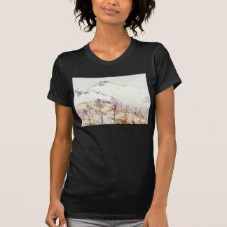 Acuarela del francés de Puy Maria Camisetas