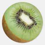 Acuarela del kiwi - pegatina