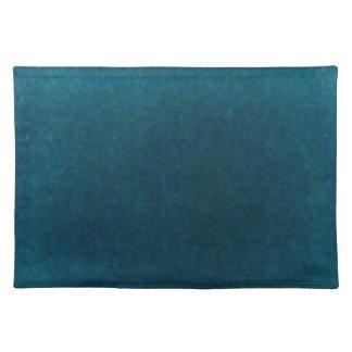 Acuarela del mar profundo - azul y aguamarina oscu mantel