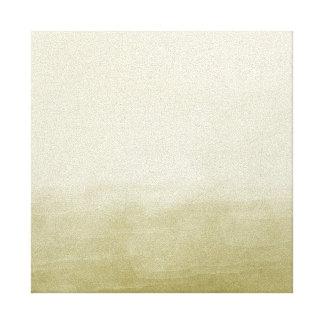 Acuarela del oro impresiones de lienzo