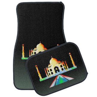 Acuarela del Taj Mahal Alfombrilla De Auto