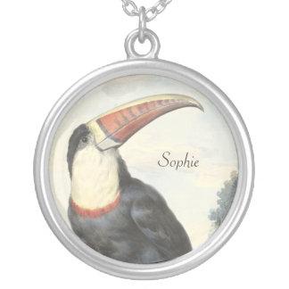Acuarela del vintage de Toucan del americano de Grimpola Personalizada