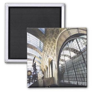 """Acuarela d'Orsay del museo de """"Musee"""" París Imanes De Nevera"""