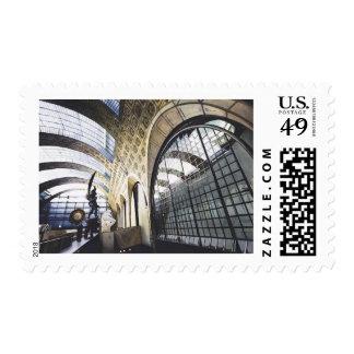 """Acuarela d'Orsay del museo de """"Musee"""" París Sellos"""