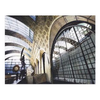 """Acuarela d'Orsay del museo de """"Musee"""" París Tarjetas Postales"""