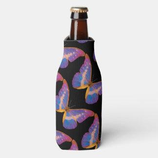 Acuarela exótica de la mariposa enfriador de botellas