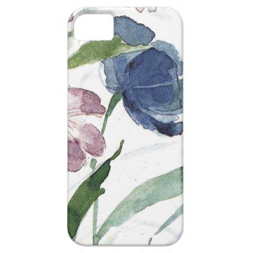 acuarela floral iPhone 5 Case-Mate funda
