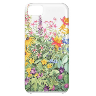 acuarela floral funda para iPhone 5C