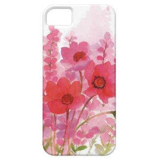 acuarela floral iPhone 5 fundas