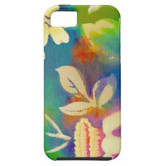 Acuarela Flowera de la diversión iPhone 5 Carcasa