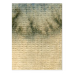 acuarela gris-azul 6 del fondo tarjeta postal