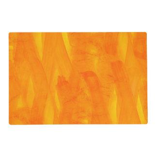 Acuarela inconsútil del extracto del amarillo del salvamanteles