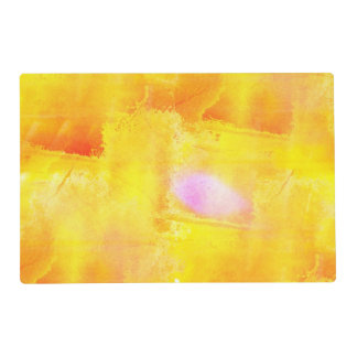acuarela inconsútil del fondo del amarillo del salvamanteles