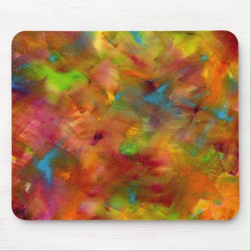 Acuarela Mousepad del arco iris Alfombrilla De Ratones