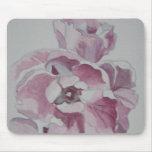 Acuarela Mousepad del tulipán Alfombrillas De Ratón