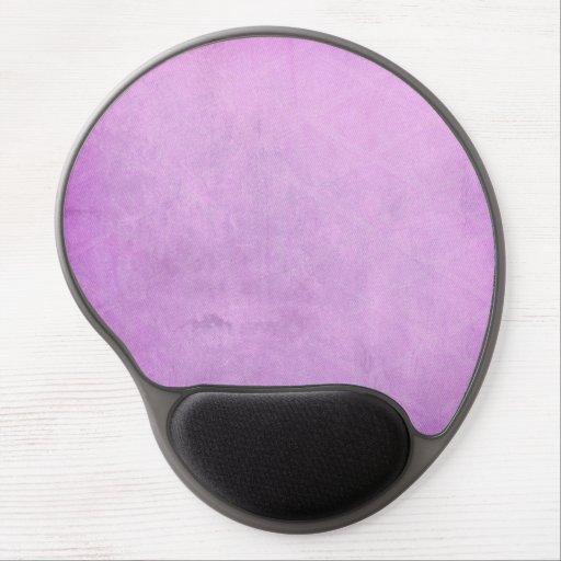 Acuarela púrpura alfombrillas con gel
