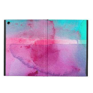 Acuarela púrpura de Ombre del trullo rosado