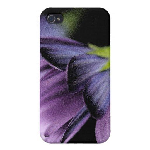 Acuarela púrpura iPhone 4/4S carcasa