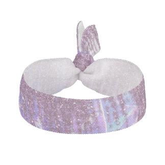 Acuarela rosada, azul, y púrpura y falso brillo banda para cabello