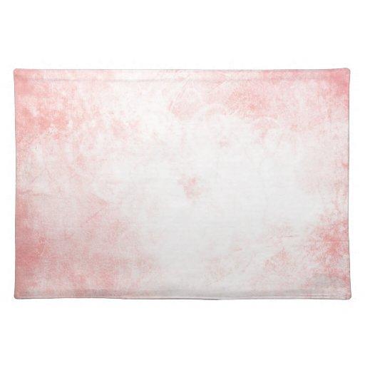 Acuarela rosada mantel