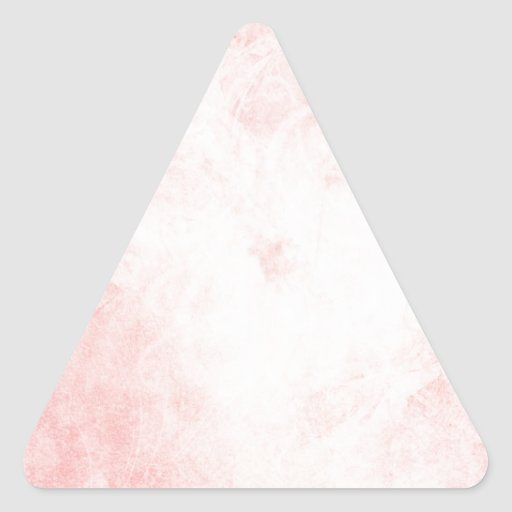 Acuarela rosada pegatina triangular