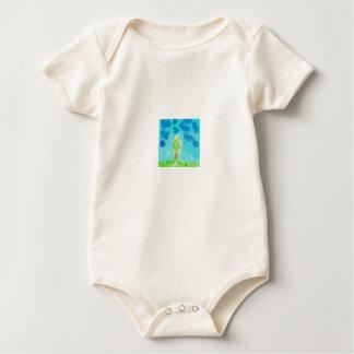 Acuarela simple body de bebé