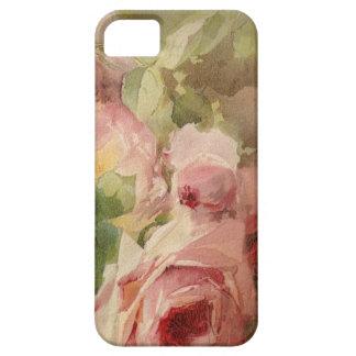Acuarela subió Victorian del vintage iPhone 5 Case-Mate Carcasa