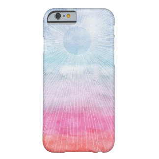 Acuarela Sun Funda De iPhone 6 Barely There