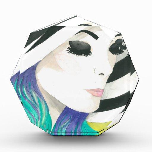 "Acuarelas cruzadas cristalinas de la ""porcelana"""