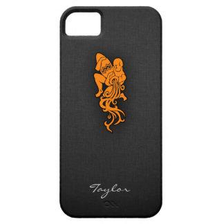 Acuario anaranjado iPhone 5 carcasas