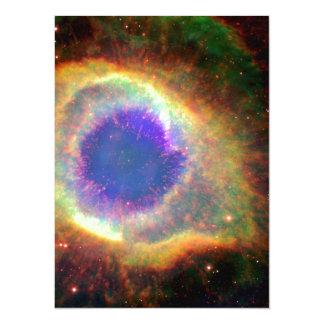"""Acuario de la constelación un enano blanco de invitación 5.5"""" x 7.5"""""""