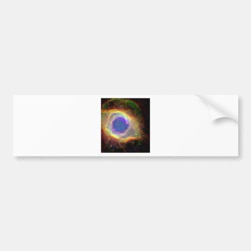 Acuario de la constelación un enano blanco de pegatina para auto