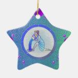 Acuario del ornamento de la muestra de la estrella ornamentos de reyes