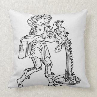 Acuario (el portador de agua) un ejemplo de almohada