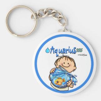 Acuario - el portador del agua llaveros personalizados