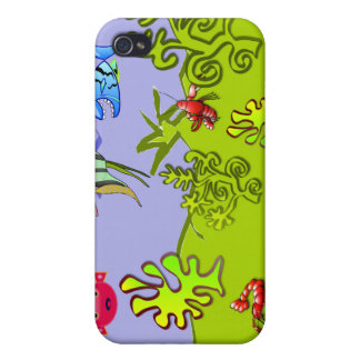 Acuario iPhone 4/4S Carcasa