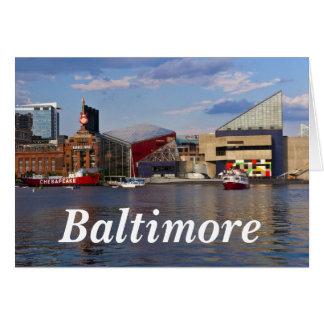 Acuario nacional - Baltimore 2 Tarjeta Pequeña