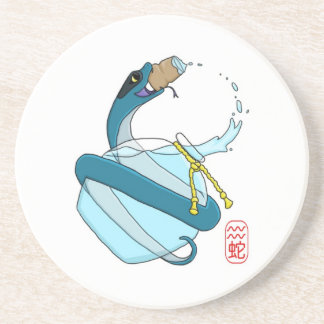 Acuario serpiente posavaso para bebida